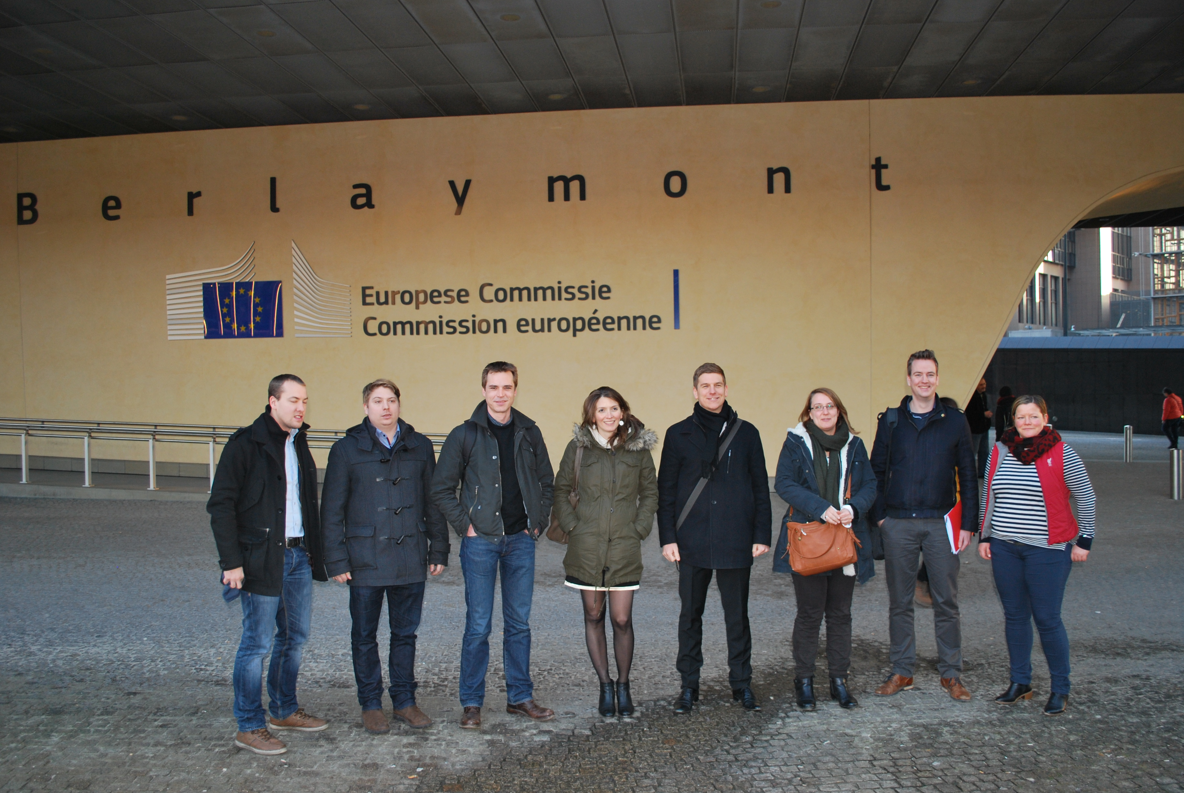 ETUC/ETUFs youth representatives meet Commissioner Thyssen on 21-01-2016